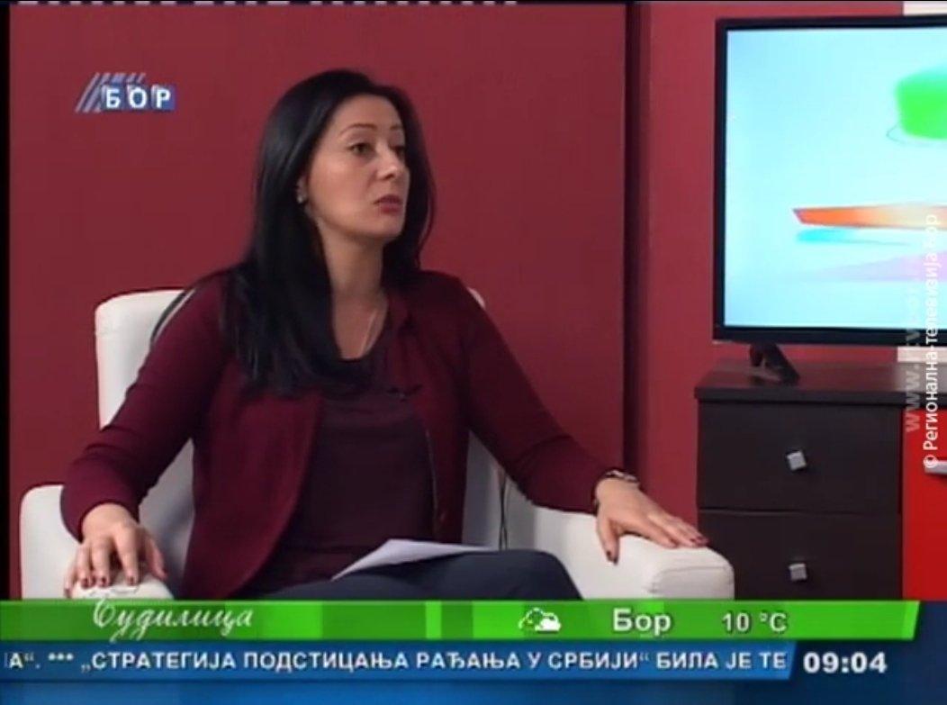 Тамара Пауновић члан Градског већа - расписан конкурс за стипендирање студената
